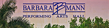 barbara mann performing arts hall